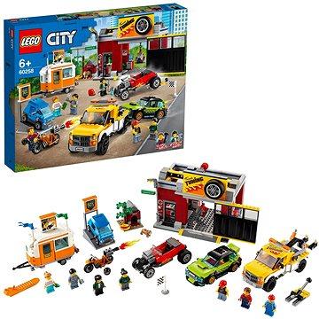 LEGO City Nitro Wheels 60258 Tuningová dílna (5702016617924)