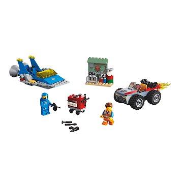 "LEGO Movie 70821 Emmetova a Bennyho dílna ""Postav a oprav to""! (5702016367935)"