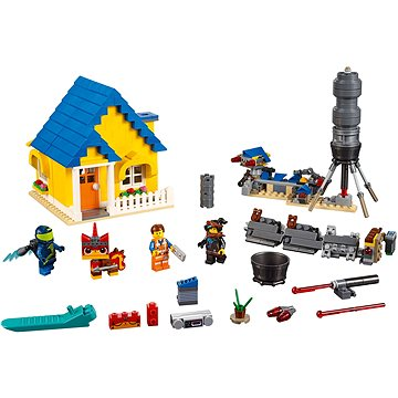 LEGO Movie 70831 Emmetův vysněný dům/Záchranná raketa! (5702016368130)