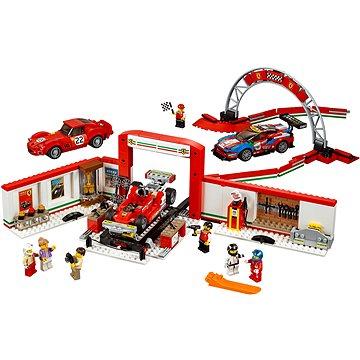 LEGO Speed Champions 75889 Úžasná garáž Ferrari (5702016110302)