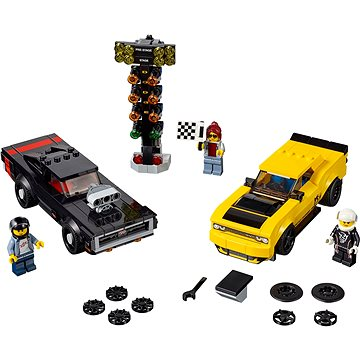 LEGO Speed Champions 75893 2018 Dodge Challenger SRT Demon a 1970 Dodge Charger R/T (5702016370973)
