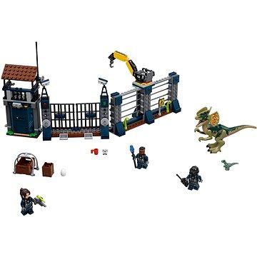 LEGO Jurský Svět 75931 Útok Dilophosaura na hlídku (5702016159967)