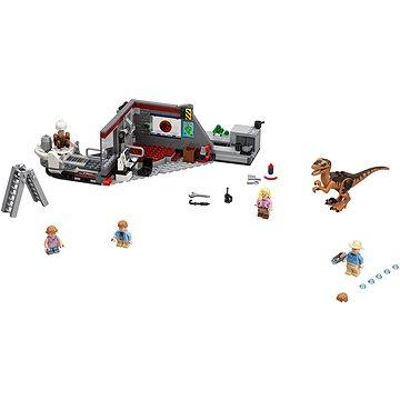 LEGO Jurský Svět 75932 Jurský park: hon na Velociraptora (5702016110272)
