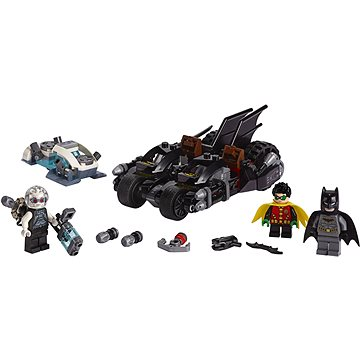 LEGO Super Heroes 76118 Mr. Freeze vs. Batman na Batmotorce (5702016369120)