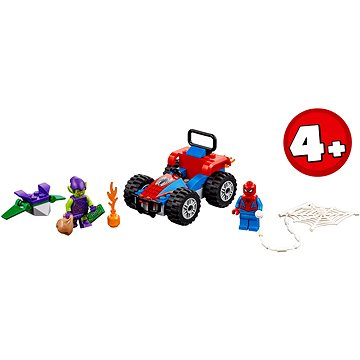 LEGO Super Heroes 76133 Spider-Man automobilová honička (5702016369731)