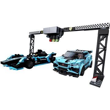 LEGO Speed Champions 76898 Formula E Panasonic Jaguar Racing GEN2 car & Jaguar I-PACE eTROPHY (5702016618341)