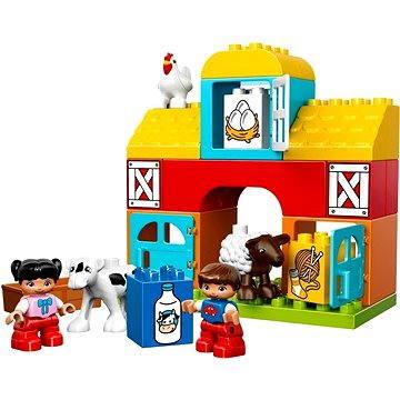 LEGO DUPLO 10617 Moje první stavebnice, Moje první farma (5702015355124)