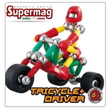 SUPERMAG - Tříkolka a řidič (8027352003673)
