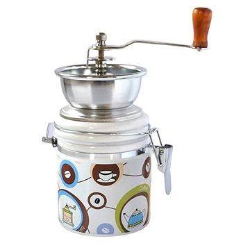Toro Mlýnek na kávu, porcelán, nerez, motiv Coffe (263548/C)