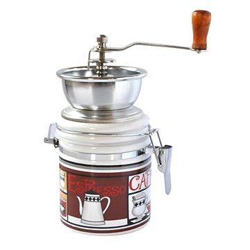 Toro Mlýnek na kávu, porcelán, nerez, motiv Espresso (263548/E)