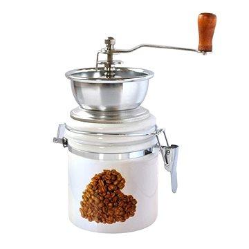 Toro Mlýnek na kávu, porcelán, nerez, motiv Srdce (263548/H)