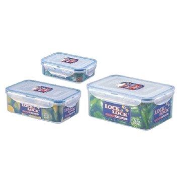 Lock&Lock Dóza na potraviny Lock - set 3ks obdélník (HPL825S)
