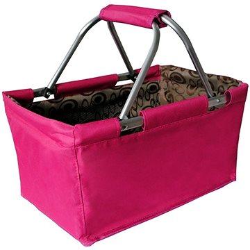 Toro Nákupní košík skládací 29l - růžový (263303)