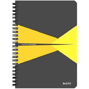 LEITZ Office A5 90 listů - šedo/žlutý (44590015)