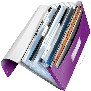 LEITZ Wow - purpurová (45890062)