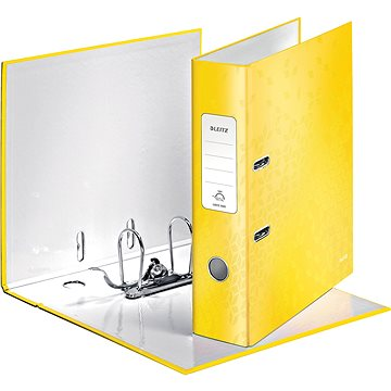 Leitz 180° WOW A4 80mm žlutý (10050016)