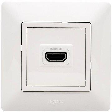 Legrand VALENA LIFE Zásuvka HDMI Komplet Bílá (DY753171)