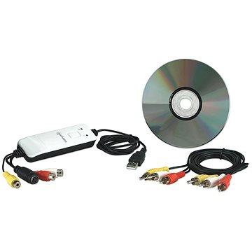 Manhattan USB Audio/Video Grabber (162579)