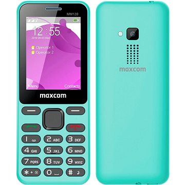 Maxcom Classic MM139 modrozelená