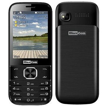 MAXCOM MM237 černý (MM237BKDS)