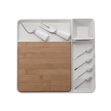 Maxwell & Williams BAMBOO Servírovací souprava porcelán/bambus 9dílů (LH9217)