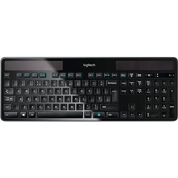 Logitech Wireless Solar Keyboard K750 (UK) (920-002929)
