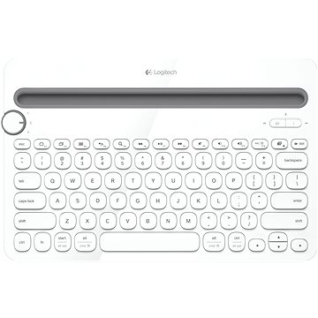 Logitech Bluetooth MultiDev KBD K480 DE White (920-006351)