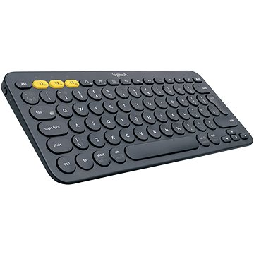 Logitech Bluetooth Multi-Device Keyboard K380, temně šedá (920-007582)