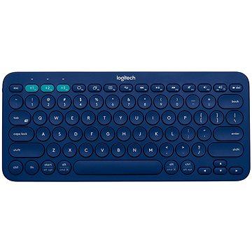 Logitech Bluetooth Multi-Device Keyboard K380 DE blue (920-007567)