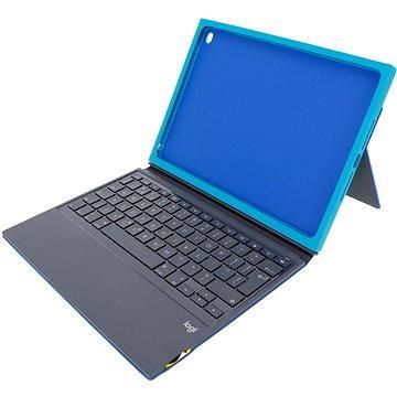Logitech BLOK Protective Keyboard Case pro iPad Air 2 - modrozelený (920-007430)
