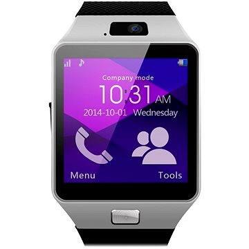 Chytré hodinky C-Tech Smart Watch HF370 černo-stříbrné