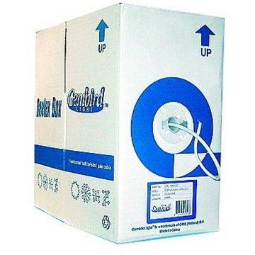Gembird, drát, CAT6, UTP, LSOH, 305m/box (UPC-6004SE-SO)