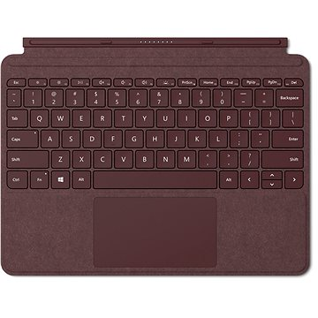Microsoft Surface Go Type Cover Burgundy (KCS-00053)