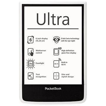 PocketBook 650 Ultra bílá (PB650w) + ZDARMA Album MP3 Letní playlist