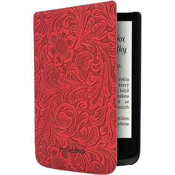 PocketBook HPUC-632-R-F Red Flowers (HPUC-632-R-F)