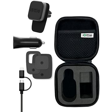 iOttie iTap Magnetic Mini and Charging Travel Kit (HLTRIO110)
