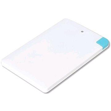 Omega 2000mAh Credit Card Alu bílá (OMPB20CCWML)