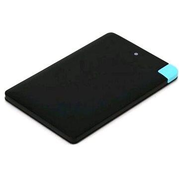 Omega 2000mAh Credit Card Alu černá (OMPB20CCBML)