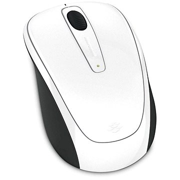 Microsoft Wireless Mobile Mouse 3500 Artist White Gloss (Limited Edition) (GMF-00294)