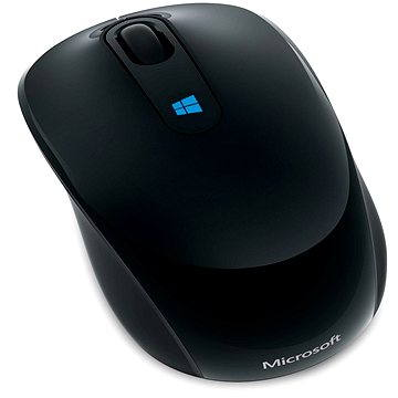 Microsoft Sculpt Mobile Mouse Wireless, černá (43U-00004)