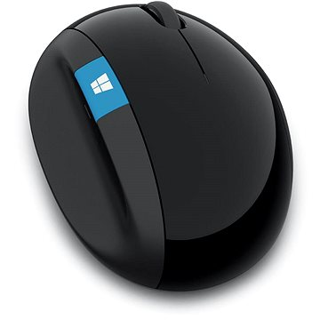 Microsoft Sculpt Ergonomic Mouse Wireless, černá (L6V-00005)