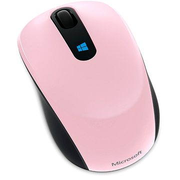 Microsoft Sculpt Mobile Mouse Wireless, růžová (43U-00020)