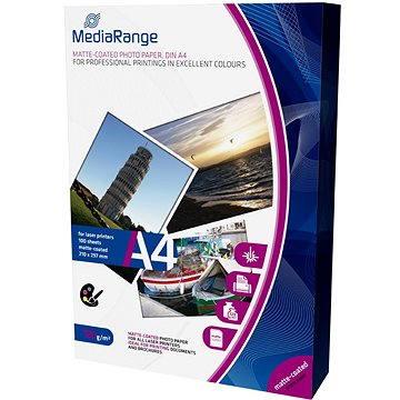 MEDIARANGE A4 100 listů, matný (MRINK106) + ZDARMA Popisovač MEDIARANGE permanentní na CD/DVD - 4 barvy + zmizík