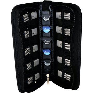 Mediarange BOX99 na flashdisky a SD karty, černý (BOX99)