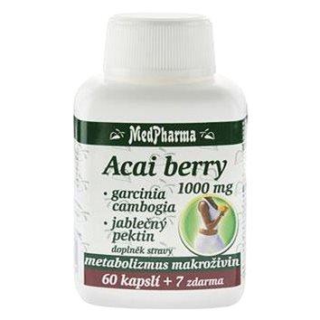 Acai berry 1000 mg + Garcinia - 67 cps. (8594045475296)