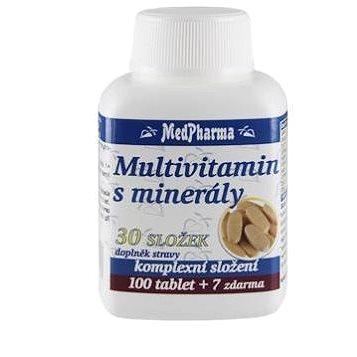 Multivitamin s minerály 30 složek - 107 tbl. (8594045471113)