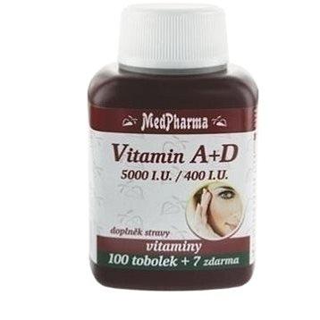 Vitamin A+D (5000 m.j./400 m.j.) - 107 tob. (8594045471885)