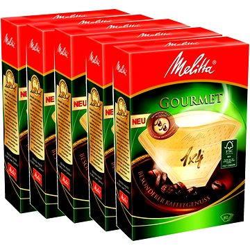 Melitta káva 1x4/80 Gourmet, balení 3+2 zdarma (8999426)