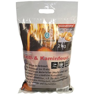 Lienbacher Podpalovací smotky 2kg pro kamna, krby a zahradní grily (21.06.051.0)