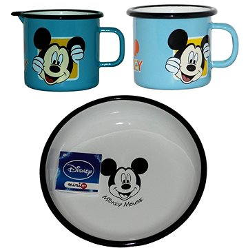Metalac Smaltovaná sada 3ks , dekor Disney Mickey Mouse (DSA-3-26)